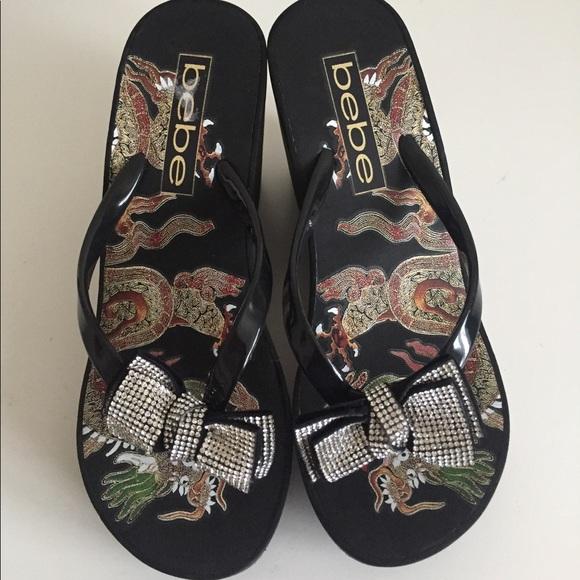 b3b4e691d0a46 bebe Shoes - Bebe wedge